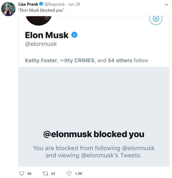 Elon musk Block