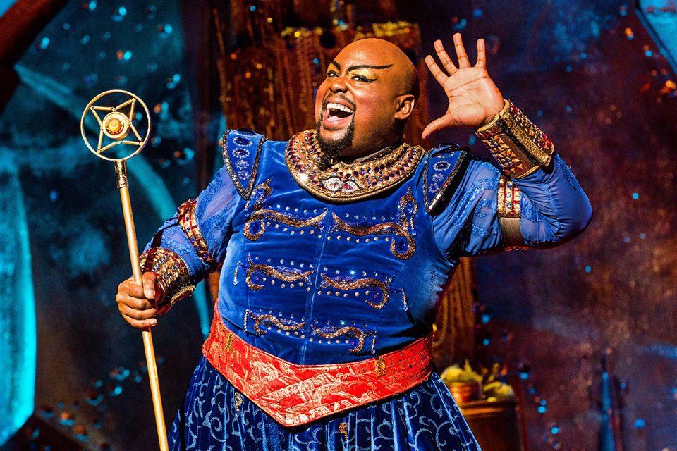 Aladdin, genie