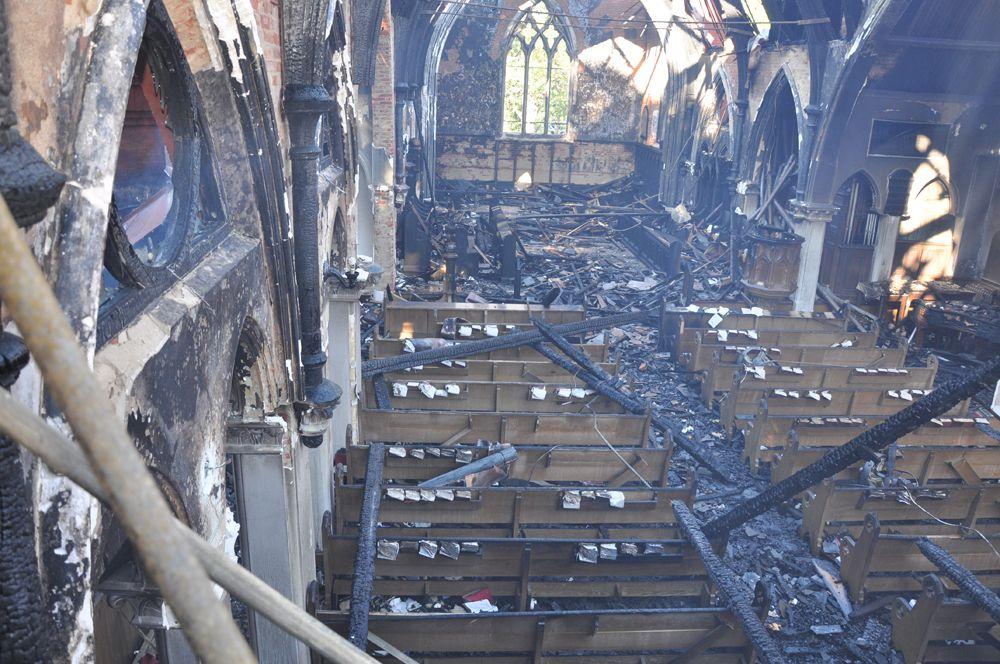 immanuel chapel virginia theological seminary fire