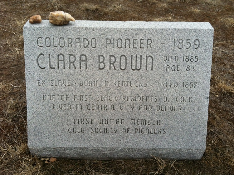 Clara Brown's Grave