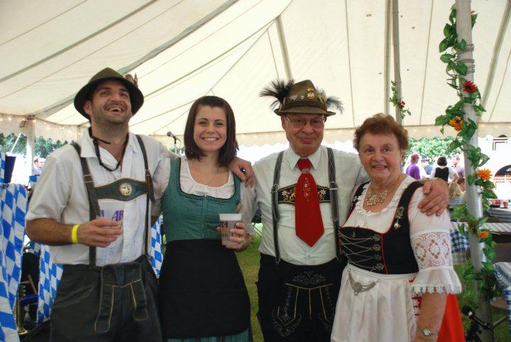 Oktoberfest, The Bier Garden