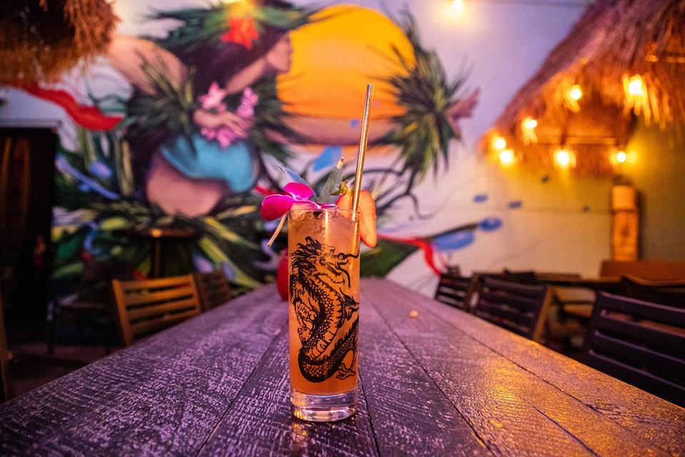 Adrift cocktail