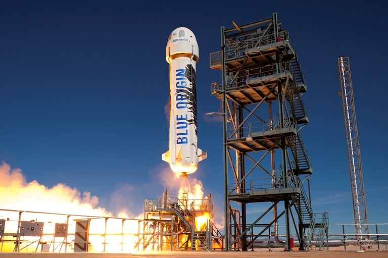 Blue Origin rocket