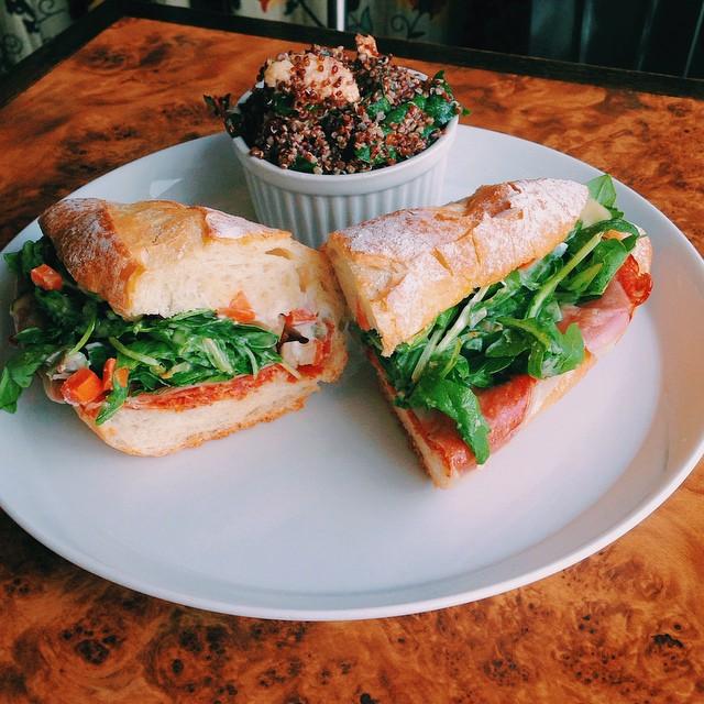 vert kitchen chorizo sandwich