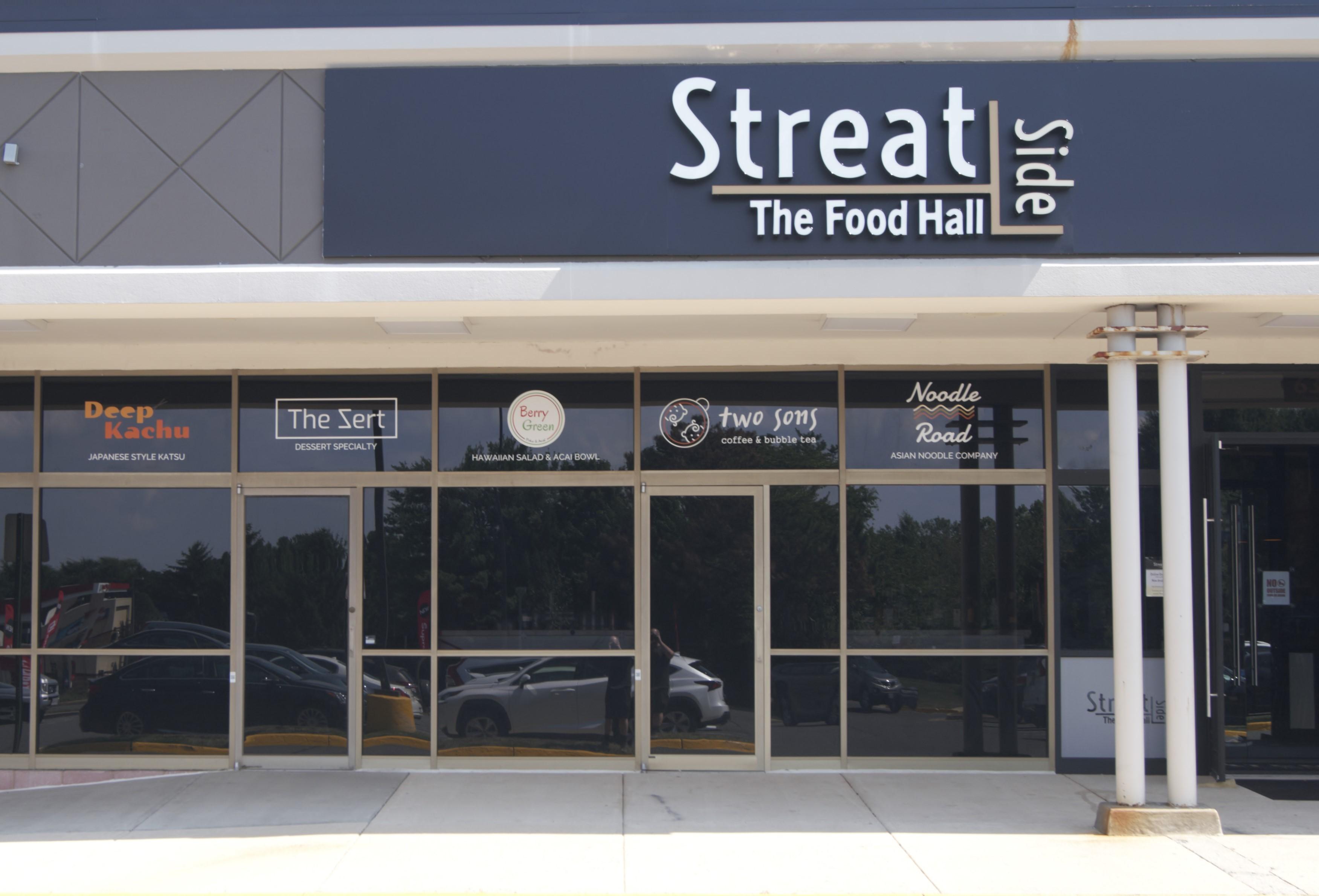 Streatside, exterior