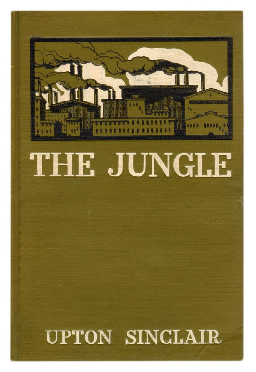 first edition copy of the jungle, 1906
