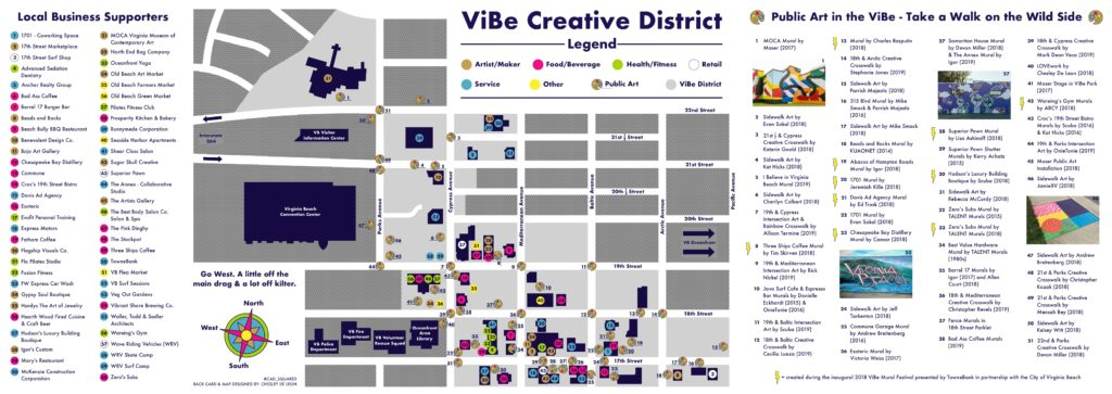 VIBE District Map